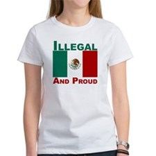 Illegal and proud Tee