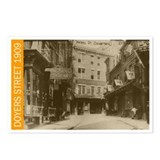 Doyers Street, 1909 Postcards (Package of 8)