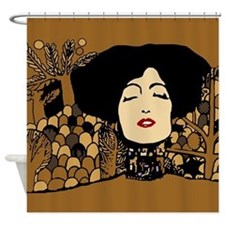 Cute Klimt Shower Curtain