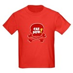 Caf-Pow Skull Kids Dark T-Shirt
