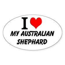 I Love my Australian Shephard