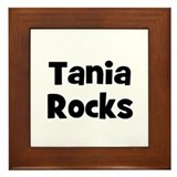 Tania Rocks Framed Tile
