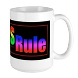 Lefties Rule Lefty Coffee Mug