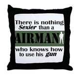 Nothing Sexier-Airman and his Throw Pillow