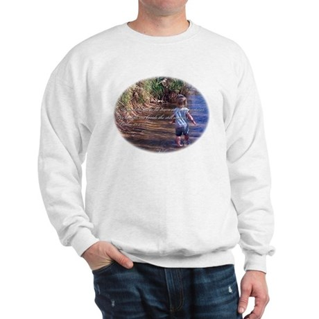 Psalm 23:2 Sweatshirt