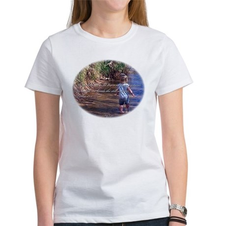 Psalm 23:2 Women's T-Shirt