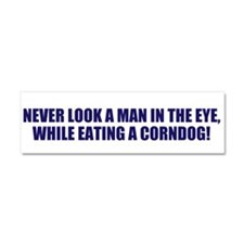 Unique Corndog Car Magnet 10 x 3