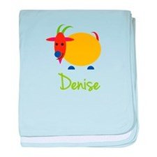 Denise The Capricorn Goat baby blanket