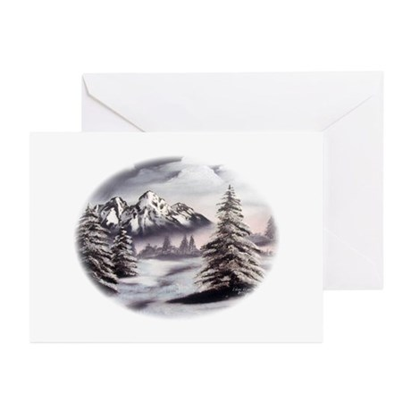 Snow Mountain Greeting Cards (Pk of 10)