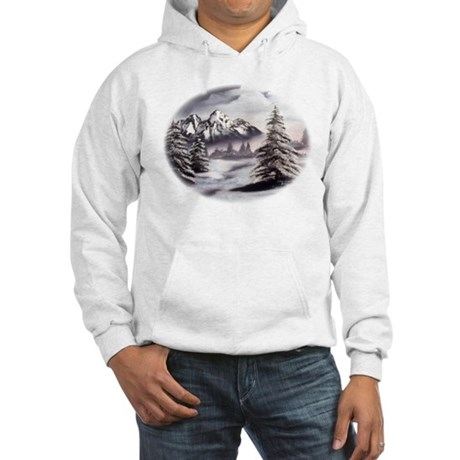 Snow Mountain Hooded Sweatshirt