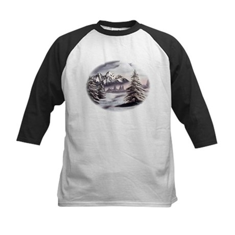 Snow Mountain Kids Baseball Jersey