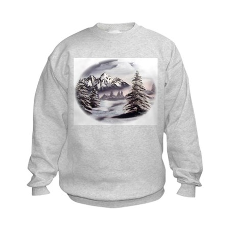 Snow Mountain Kids Sweatshirt