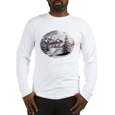 Snow Mountain Long Sleeve T-Shirt