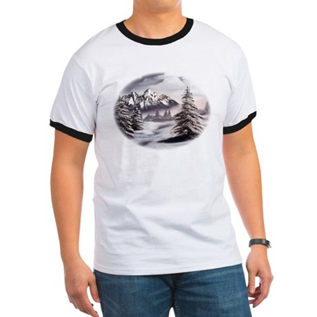 Snow Mountain Ringer T