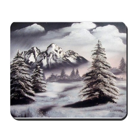 Snow Mountain Mousepad