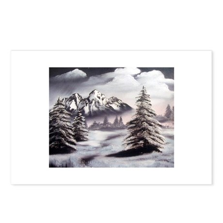 Snow Mountain Postcards (Package of 8)