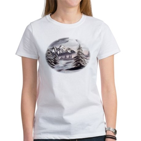 Snow Mountain Women's T-Shirt