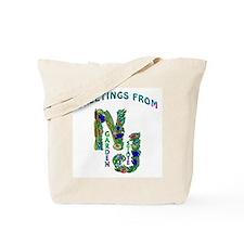NJ Garden State   Tote Bag