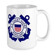 Coast Guard Auxiliary<BR> 15 Ounce Mug