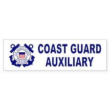 Coast Guard Auxiliary<BR> Bumpersticker