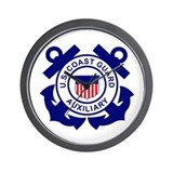 Coast Guard Auxiliary&lt;BR&gt; Wall Clock