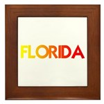 FLORIDA III Framed Tile