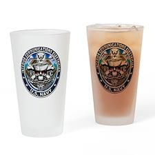 USN Interior Communications E Drinking Glass