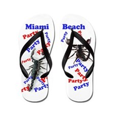 Spring Break Party Flip Flops