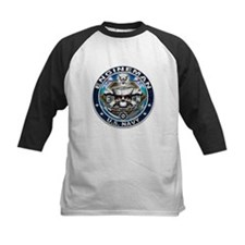 USN Engineman Skull EN Blue Tee