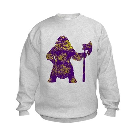 Vintage, Vikings Kids Sweatshirt