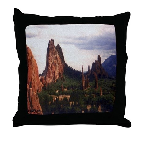 Offroad Majesty Throw Pillow