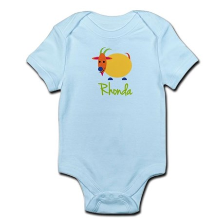 Rhonda The Capricorn Goat Infant Bodysuit