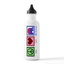 Peace Love Mitt Romney Water Bottle