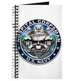 USN Hospital Corpsman Skull H Journal