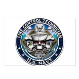 USN Fire Control Technician S Postcards (Package o