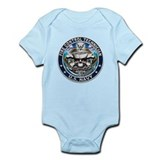 USN Fire Control Technician S Infant Bodysuit