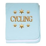 Cycling Stars baby blanket