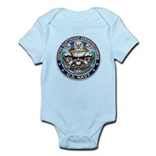 USN Aviation Maintenance Admi Infant Bodysuit