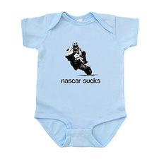 nascar sucks nicky hayden whi Infant Bodysuit