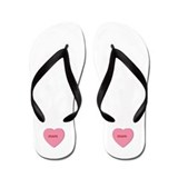 Candy Heart - Mom Flip Flops
