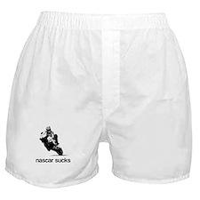 nascar sucks nicky hayden whi Boxer Shorts
