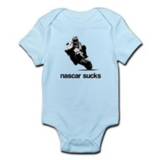 nascar sucks nicky hayden whi Infant Bodysuit