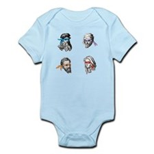 Ninja Polymaths Infant Bodysuit