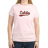 Zelda, Red Script T-Shirt