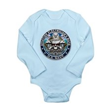 USN Aviation Electrician's Mate Long Sleeve Infant
