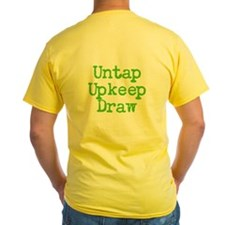 Untap Upkeep Draw T