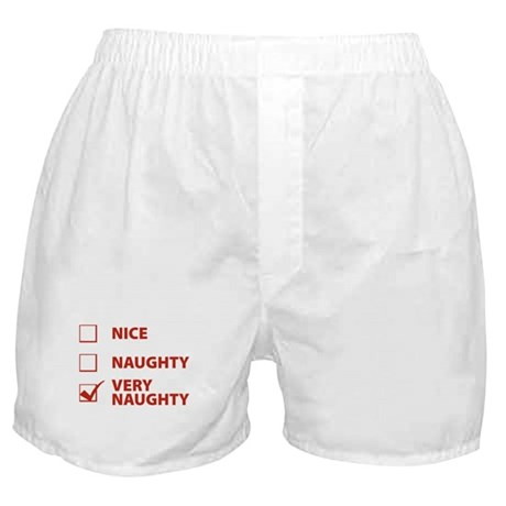 Very Naughty Boxer Shorts