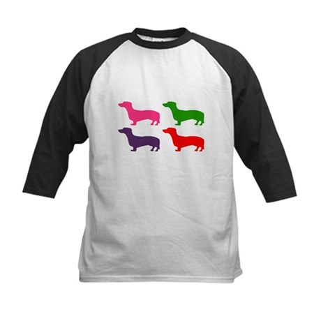 Pop Doxie II Kids Baseball Jersey