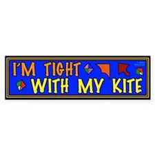 Kiting Bumper Sticker
