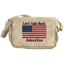 Take Back America Messenger Bag